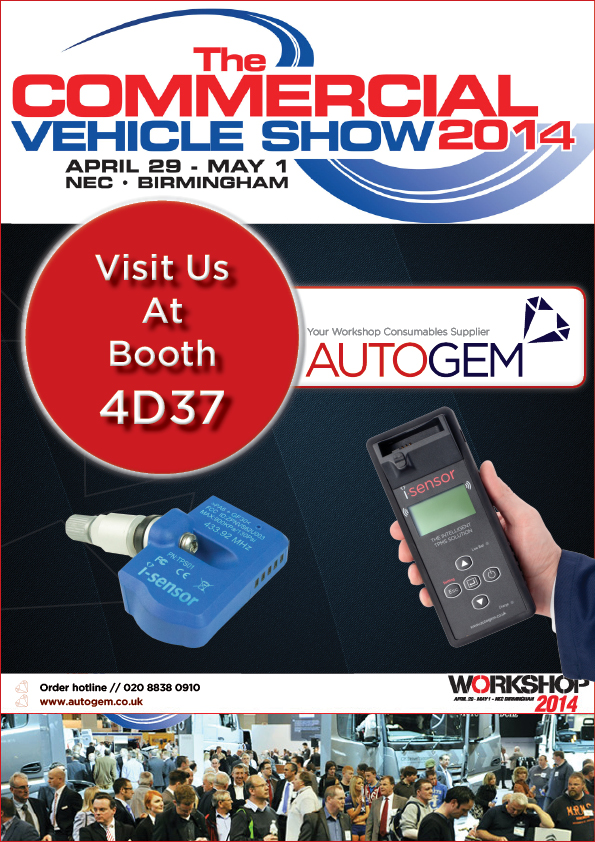 Commercial Vehicle Show 2014