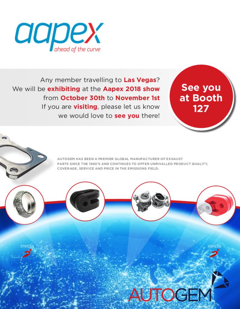 Appex Show 2018 invite