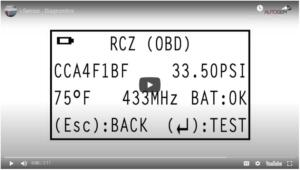 Watch the diagnose sensor video here